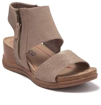 bionica Palotina Bronze Wedge Sandal