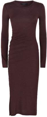 AllSaints Knitted Tina Midi Dress
