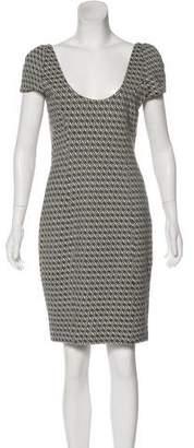 Diane von Furstenberg Knit Bodycon Dress