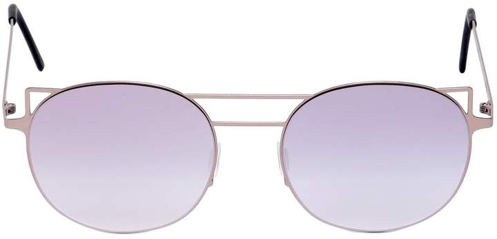 2821c56607ff2 Kyme Round Cat-Eye Sunglasses - ShopStyle