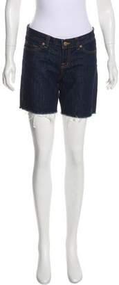 J Brand Low-Rise Denim Shorts