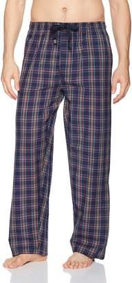 Geoffrey Beene Men's Broadcloth Pajama Sleep Pant