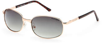 Tommy Hilfiger Gold-Tone Steve Oval Sunglasses
