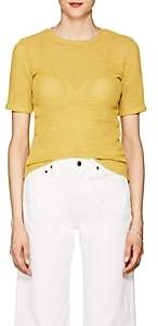 Simon Miller Women's Enna Cotton-Blend T-Shirt - Gold