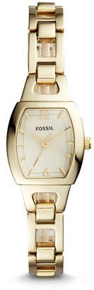 Fossil Isobel Three-Hand Gold-Tone Stainless Steel Watch