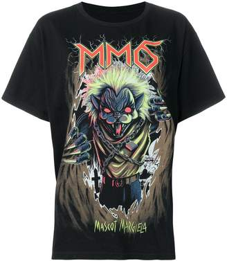 MM6 MAISON MARGIELA Mascot print T-shirt
