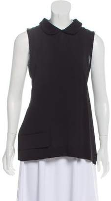 Marni Sleeveless Peter Pan Collar Top w/ Tags