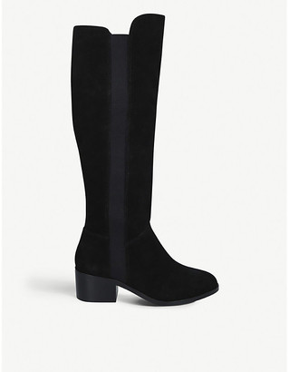 Steve Madden Giselle suede knee-high boots