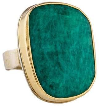 Jamie Joseph Amazonite Cocktail Ring