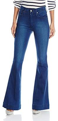 James Jeans Women's Shayebel High-Rise Flare Jean In