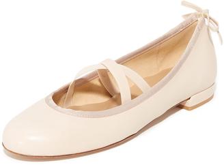 Stuart Weitzman Bolshoi Ballet Flats $375 thestylecure.com