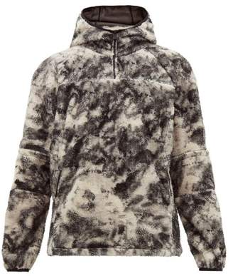 Alyx Marco Polar Half Zip Fleece Sweater - Mens - Black Multi
