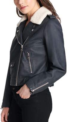 Levi's Levis Women's Faux-Leather Moto Jacket