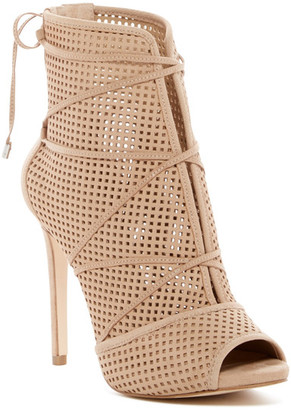 GUESS Ayanae Lace-Up Sandal $139 thestylecure.com