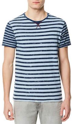 Buffalo David Bitton Kaneon Striped Cotton T-Shirt