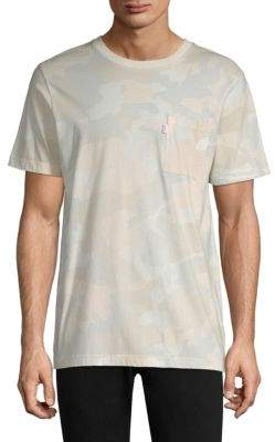 Wesc Maxwell Camouflage Cotton T-Shirt