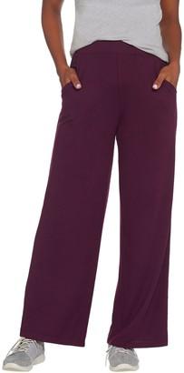 Denim & Co. Active Regular Heavenly Jersey Wide-Leg Pants