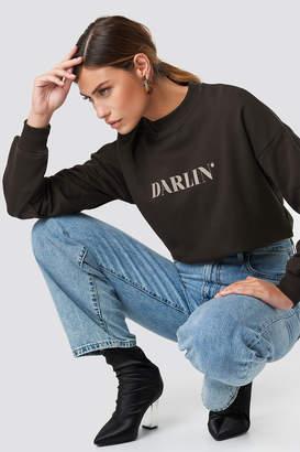 NA-KD Na Kd Darlin' Sweatshirt Coffee