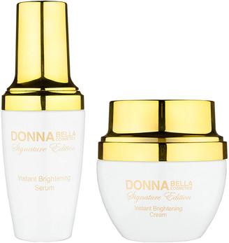 Donna Bella Signature Edition 2Pc Signature Edition Instant Brightening Set
