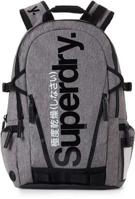 Superdry Grey Gel Tarp Backpack