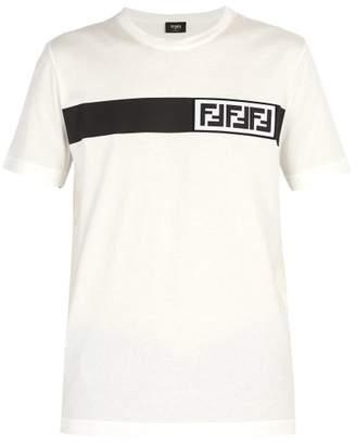 Fendi Forever 3d Logo Print T Shirt - Mens - White