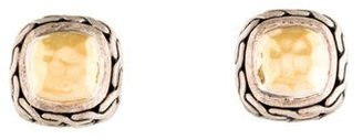 John Hardy Palu Stud Earrings $275 thestylecure.com