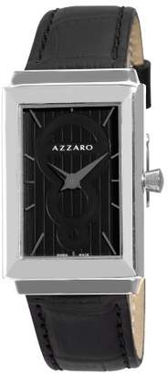 Azzaro Men's AZ2061.12BB.000 Legand Rectangular Dial and Strap Watch