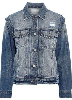 Joie Demanda Distressed Denim Jacket