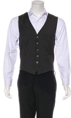DSQUARED2 Wool Button-Up Vest w/ Tags