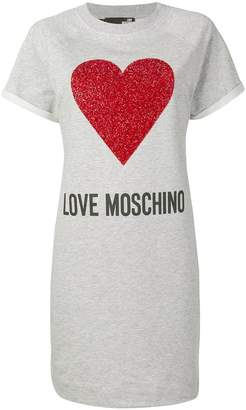 Love Moschino printed T-shirt dress