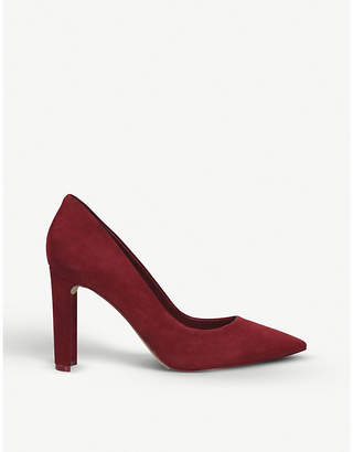 Aldo Febriclya faux-suede courts