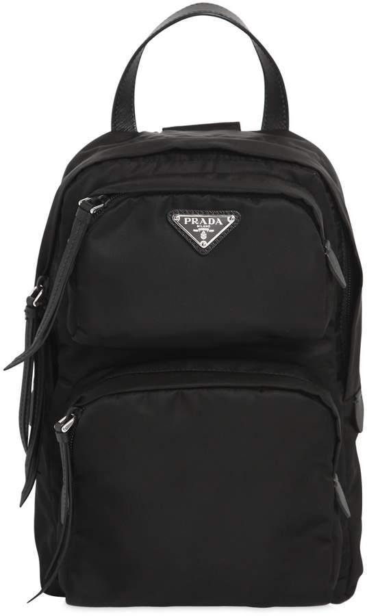 One Shoulder Nylon Backpack