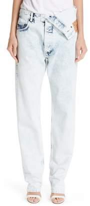 Y/Project Asymmetrical Waist Jeans