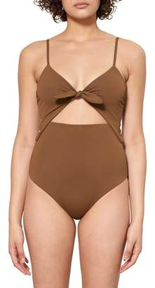 Mara Hoffman Kia Cutout One-Piece Swimsuit