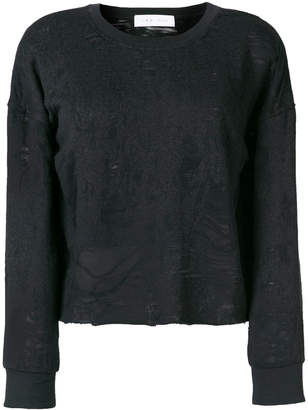 IRO distressed effect sweatshirt