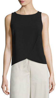 Theory Mintorey Admiral Crepe Top $235 thestylecure.com