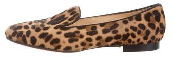 Christian Louboutin  Christian Louboutin Leopard Print Ponyhair Loafers