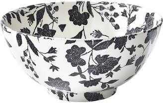 Ralph Lauren Home Garden Vine Serving Bowl - Black