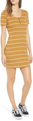 RVCA Donner Stripe Rib Dress