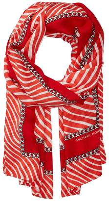MICHAEL Michael Kors Ribbon Waves Oblong Scarves