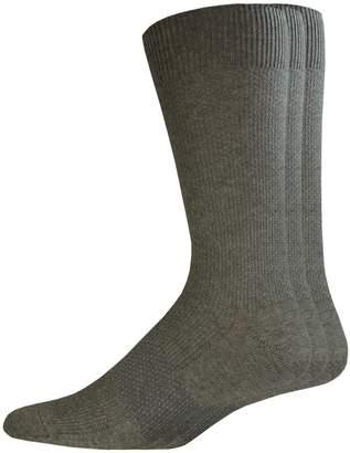 Dockers Men's 3-pack Textured Stretch Crew Socks