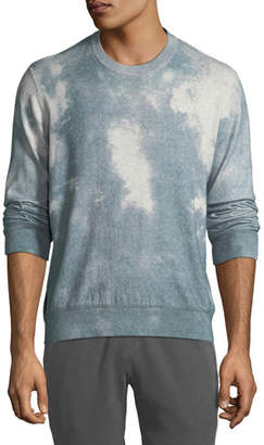 ATM Anthony Thomas Melillo Men's Wash-Dyed Crewneck Sweater