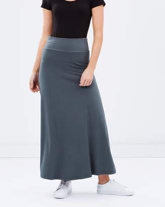 Bamboo Long Skirt