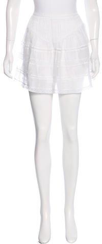 Isabel MarantIsabel Marant Pleated Mini Skirt