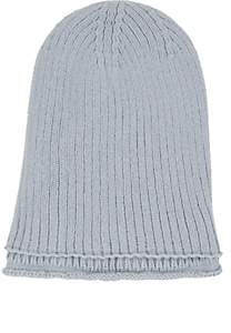 Barneys New York Women's Double-Layer Cashmere Beanie - Blue