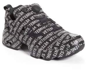 Vetements Monogram Instapump Fury Sneaker