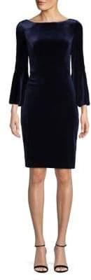 Vince Camuto Velvet Sheath Dress