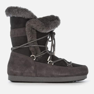 Moon Boot Women's High Shearling Boots