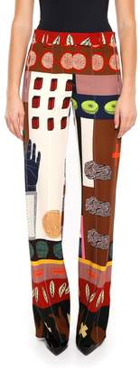 Valentino Printed Trousers