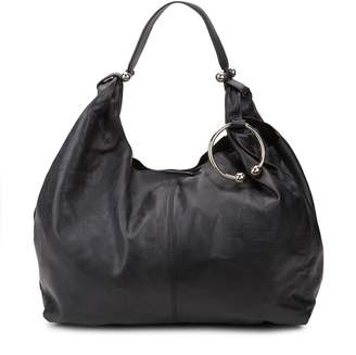 Vince Camuto Pebbled Leather Hobo Bag